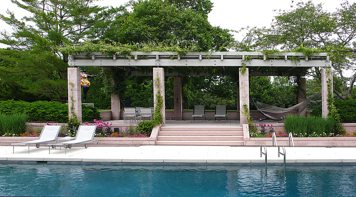 Garden visits in the hamptons dig it for Pool garden house
